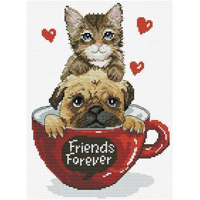 Friends Forever - Kit point de croix - Needleart World