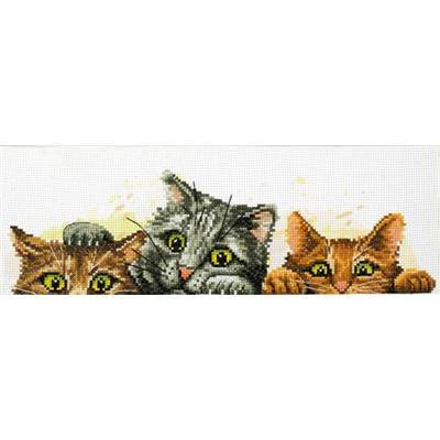 Curious Kittens - Kit point de croix - Needleart World