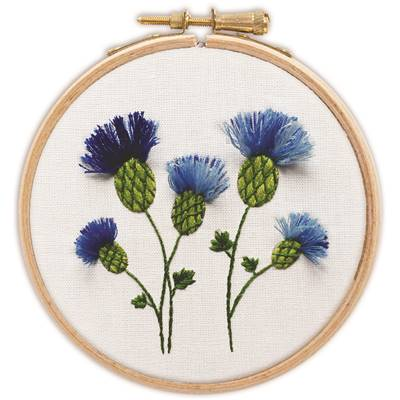 Bleuets - Kit broderie traditionnelle - Princesse