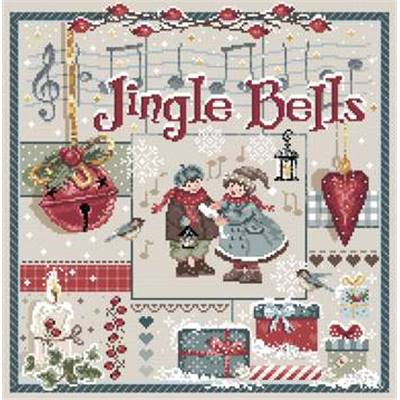 Jingle Bells - Fiche point de croix - Madame La Fée