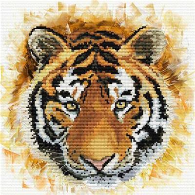 Tiger Charge - Kit point de croix - Needleart World